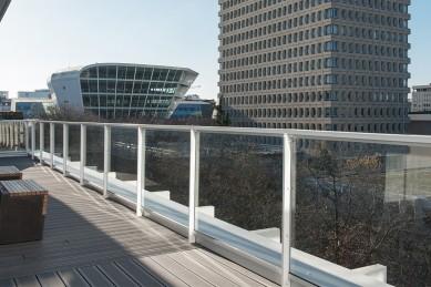 Terrasse bureau Groupe Lamotte