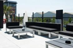 Aménagement terrasse La Tribune