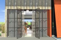 Etude 3D la Grange d'Il Toscano