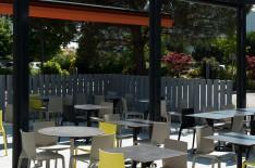 Aménagement terrasse restaurant rennais