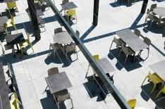 Terrasse restaurant La Tribune